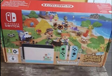 Animal Crossing Nintendo Switch Joycons & Dock Limited Edition