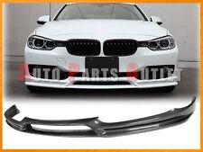 Carbon Fiber 3D Look Front Bumper Lip Fit 12-15 BMW 328i 335i w/ Standard Bumper