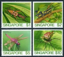 Singapore 461-464,MNH.Michel 471-474. Insects 1985.