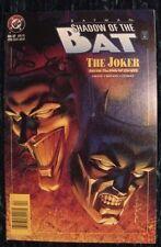 BATMAN SHADOWS OF THE BAT #37 Near Mint Condition The Joker FREE Bag & Board