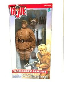 HASBRO GI Joe WWII Foreign Soldiers Collection RUSSIAN INFANTRY SOLDIER - NIB