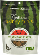 Skinny Minis Watermelon for Dogs Delicious soft chewy 5 oz