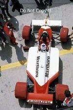 Alain Prost McLaren MP4/3 húngaro Grand Prix 1987 fotografía 3