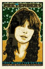 The Pretenders Austin City Poster Print Chuck Sperry Signed & Numbered Ed 300