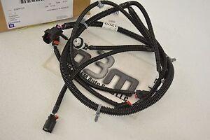 2007-2013 Chevrolet Avalanche Rear Sensor Wiring Harness new OEM 22899755