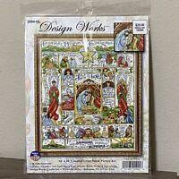 NEW Nativity Story Cross Stitch Kit Christmas Holiday Hamrick Design Works Craft