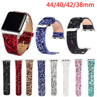 Glitter Christmas Gift Watch Strap for Apple Watch Band iWatch Series 6 5 4 3 2