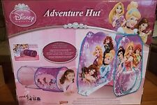 Disney Princess Adventure Hut Tent Tunnel Port 2 Structures Play