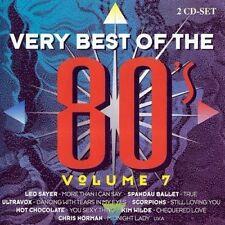 Very best of the 80's 7 Leo Sayer, Spandau Ballet, Ultravox, Kim Wilde,.. [2 CD]