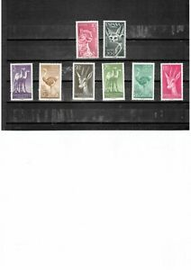 SAHARA ESPANOL (Colonial) - Wild animals - 2MNH & 6 unused (Washed) stamps