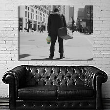Poster Mural Joker Bank Robber Batman 35x47 inch (90x120 cm) on Canvas