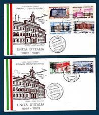 ITALIA REP. - 1961 - Centenario dell'unità d'Italia su FDC Rodia
