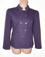 BNWT size 16  PER UNA  by M&S Marks and Spencer LADIES JACKET in PURPLE