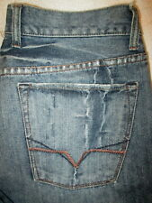 Guess Jeans Laredo Boot Mens Blue Denim Jeans Size 34 x 30