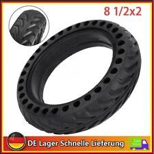8.5 Zoll 8,5x2 Gummi Elektroroller Reifen Schlauchlose Für M365/Pro E-Scooter DE