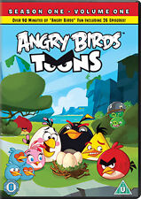 ANGRY BIRDS TOONS - VOLUME 1 - DVD - REGION 2 UK