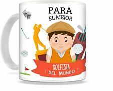Taza de Desayuno golf mejor jugador de golf, regalo golf, taza golf
