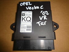 Opel VECTRA C manufactured 02-Türsteuergerät ECU module Front Right 9227563