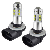 2Pcs*881 100W LED Headlight Bulbs For Polaris Sportsman 300 400 450 500 550 570