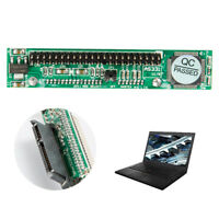 "Hard Drive Laptop Female to 44Pin 2.5"" IDE Male HDD SDD SATA Adapter Converte_ha"