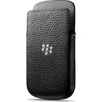 BlackBerry Black Leather Pocket Case Pouch for Q10 ACC-50704-201