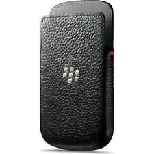 BlackBerry Black Leather Pocket Case Pouch for Q10 ACC-50704-201