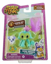 Animal Jam Core Friends- Luckey Monkey and Pet Puppy