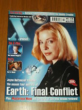 XPOSE #51 BRITISH MAGAZINE VISUAL IMAGINATION DECEMBER 2000 EARTH BUFFY X-FILES