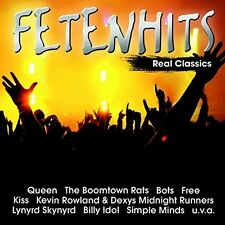 "Fetenhits-real Classics (u.a ""rockwell"","" queen"", ""Kiss"") CD NEUF"