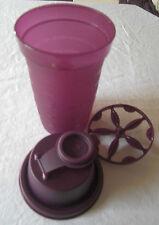 Tupperware Mixi Kleiner Mixbecher Schüttelbecher Shaker 250 ml Lila Violett VF