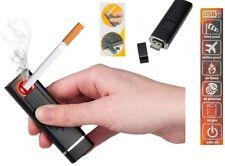 Accendino elettronico USB ricaricabile per sigarette. Antivento,senza fiamma