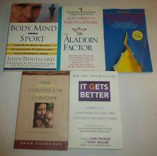 Lot of 5 Mind, Healing, God,Tim Hansel,Jack Canfield,Body,Mind &Sport,It GetsTM1