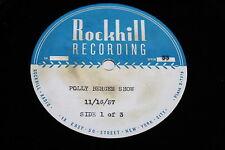 Polly Bergen / Acetate LP / The Polly Bergen Show Nov 16 1957 / 1950's Movie