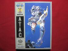 Macross Southern Cross ATAC Bowie Emerson 1/12 Model Kit Arii Japan Robotech 4