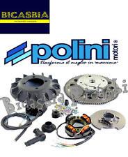 8522 - ACCENSIONE ELETTRONICA POLINI 5 FILI PIAGGIO APE 50 FL FL2 FL3 RST MIX