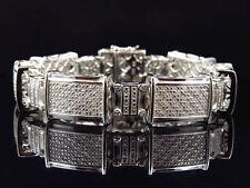 "Not Enhanced Fine Diamond Bracelets 8 - 8.49"" Length"