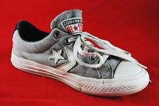 Converse All Star Street Low Top Sneaker Shoes - Gray - Junior Child Size 13