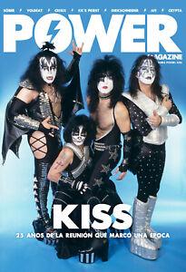 NEW! KISS 25th ANNIVERSARY REUNION SOBER VOLBEAT POWER SPAIN Mag July 2021