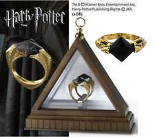 New Harry potter deathly Horcruxes Resurrection Stone Retro Bronze Crystal Ring