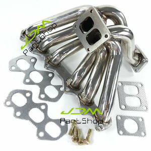 2JZGTE Turbo Exhaust Manifold for 93-98 Toyota Supra JZA80 Aristo JZS147 2JZ-GTE