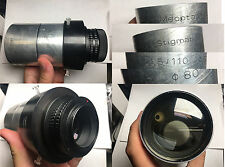 Meopta Stigmar 110mm f1.5 Projection Lens projector with an adapter for Sony E