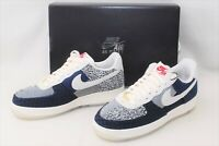 Brand New JP LIMITED Air Force 1 Low 07 LV Size 12 Sashiko Women From Japan