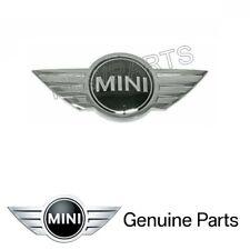 For BMW Mini R52 R53 Cooper S Emblem 'MINI' Hood Genuine front engine lid logo