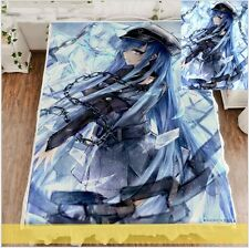 Anime Akame Ga Kill! Esdeath queen soft comfortable Blanket bed sheet 59x79""