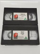 TOTS TV VHS Video Tapes Bus Ride & Rabit & Dog & Other Stories Classic Kids 90s