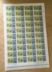 SPECIAL LOT Bhutan 1975 184 - Jewelry - 20 Full Sheets of 40 - MNH