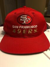 VTG NWT San Francisco 49ers Embroidered New Era Hat Cap SnapBack New Retro 90s