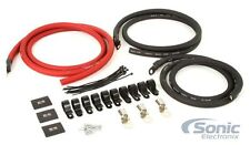 Belva BBG3KT 1/0 AWG Gauge Big 3 Upgrade Kit for Car Audio Systems up to 250A