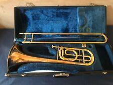 More details for yamaha bass trombone ybl 321 - gold brass bell