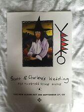 Scott & Charlene's Wedding - Mid Thirties Single Scene    Promo poster -mint